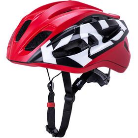 Kali Therapy Helm matt rot/schwarz